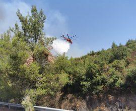 Συναγερμός στον Δήμο Διονύσου – Μεγάλη φωτιά στη Σταμάτα κοντά σε κατοικίες