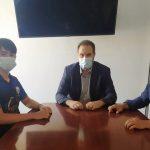 Ο Δήμαρχος Φλώρινας συνεχάρη τους αθλητές σκοποβολής για τις πρόσφατες διακρίσεις τους