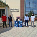 Περιφέρεια Θεσσαλίας: Προσφορά αγάπης από τους εργαζόμενους της ΖΕΝΙΘ σε σεισμόπληκτες οικογένειες