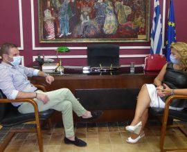 Δήμος Καστοριάς: Επίσκεψη της επικεφαλής του Γραφείου Πρωθυπουργού στη Θεσσαλονίκη