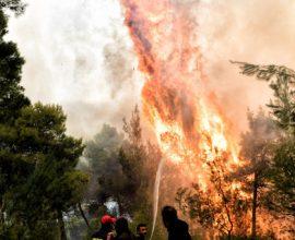 Σε πύρινο κλοιό η Αχαΐα- Νέα πυρκαγιά στην Ελεκίστρα Πατρών, καίγονται σπίτια