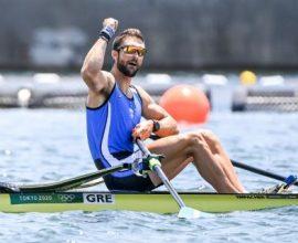 Ολυμπιακοί Αγώνες: Προκρίθηκε στον τελικό του απλού σκιφ ο Στέφανος Ντούσκος