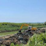 Π.Ε. Σερρών: Καθαρισμός της τάφρου της Μαυροθάλασσας στο πλαίσιο της αντιπλημμυρικής θωράκισης της περιοχής