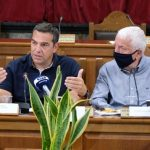 Μυτιλήνη: Συνάντηση Αλ. Τσίπρα με τον περιφερειάρχη Βορείου Αιγαίου