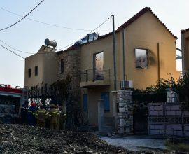 Πάτρα: Καμένα σπίτια και έρημους τόπους άφησε πίσω της η φωτιά