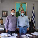 Συνάντηση του Δημάρχου Καλαμαριάς με τον Δήμαρχο Θάσου