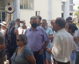 Στο πλευρό των κατοίκων του Αχλαδοχωρίου ο Δήμαρχος Σιντικής