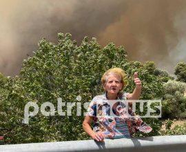 Τεράστια καταστροφή: Στις φλόγες έχουν παραδοθεί τα χωριά της Αρχαίας Ολυμπίας