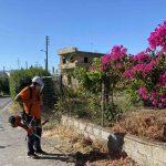 Καθαρισμοί και αποψιλώσεις σε περιοχές του Δήμου Μαλεβιζίου