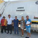 Νέο απορριμματοφόρο στον στόλο του Δήμου Σιθωνίας