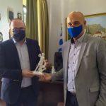 Συνάντηση εργασίας του Δήμαρχου Λέρου με τον Γ.Γ. Αιγαίου και νησιώτικης πολιτικής