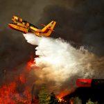 Αρχαία Ολυμπία: Πύρινη κόλαση- Συνεχείς αναζωπυρώσεις, μάχη με τις φλόγες