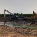 Δήμος Βισαλτίας: Επίβλεψη των εργασιών καθαρισμού της τάφρου της Μαυροθάλασσας για την αντιπλημμυρική θωράκιση της περιοχής