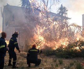Πύρινος εφιάλτης στην Εύβοια: Έχουν εκκενωθεί 8 χωριά- Κινδυνεύει το μοναστήρι του Οσίου Δαβίδ