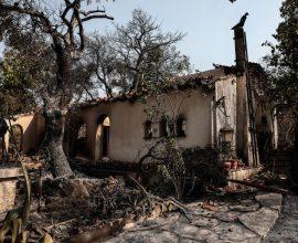Βαρυμπόμπη- Αδάμες- Θρακομακεδόνες: Η καταστροφή σε εικόνες- Στάχτη περιουσίες μιας ζωής