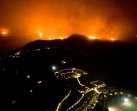 Υπό έλεγχο η πυρκαγιά στην Αρχαία Ολυμπία