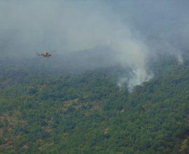 Μαίνεται η πυρκαγιά στο Καρπερό του Δήμου Δεσκάτης- Στη μάχη πυρόσβεσης ο δήμος Γρεβενών