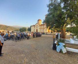 Εκδηλώσεις τιμής και μνήμης για τους εκτελεσθέντες σε Αλικιανό και Σκινέ του Δήμου Πλατανιά