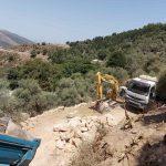 Δήμος Πλατανιά: Ξεκίνησαν τα έργα αποκατάστασης των καταστροφών και στον οικισμό Χωστή