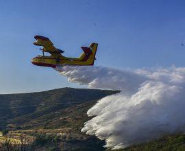 Δραματικές ώρες στην Εύβοια: Τέσσερα τα μέτωπα της φωτιάς