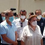 Αντωνακόπουλος: «Στήριξη στην Ολυμπία και όλες τις πυρόπληκτες περιοχές»