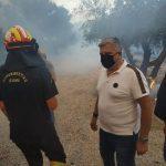 Στο μέτωπο της πυρκαγιάς η Περιφέρεια Αττικής, με όσα μέσα διαθέτει