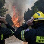 Φωτιά σε Εύβοια και Ολυμπία – Φτάνει βοήθεια από Σουηδία και Γαλλία