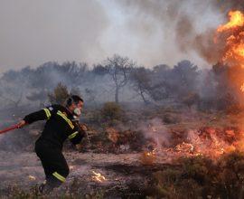 Μεγάλη κινητοποίηση της Πυροσβεστικής για φωτιά στο Κιλκίς