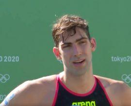 Τόκιο: 5η θέση ο Άκης Κυνηγάκης στη μαραθώνια κολύμβηση- «Παλεύουμε μόνοι μας»