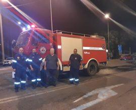 Η Πολιτική Προστασία του Δήμου Αμαρουσίου συμμετέχει στις επιχειρήσεις της πυρκαγιάς στη Βαρυμπόμπη