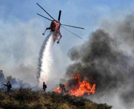 Πυρκαγιά στην Μεσσηνία- Κινητοποίηση ισχυρών δυνάμεων