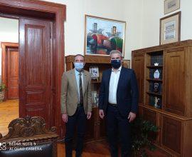 Συνάντηση Δημάρχου Σύρου-Ερμούπολης με Γενικό Γραμματέα ΕΟΤ