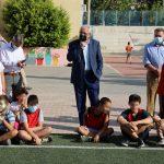 Αμπατζόγλου: «Προτεραιότητά μας η ασφάλεια και ο εκσυγχρονισμός των σχολικών υποδομών»