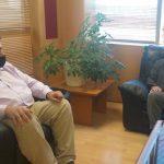 Συνάντηση Δημάρχου Πύργου με τον Υφυπουργό Ψηφιακής Διακυβέρνησης