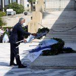Περιφέρειας Αττικής: Τελετή στο Μνημείο του Αγνώστου Στρατιώτη προς τιμή της ιστορικής επετείου της Ναυμαχίας της Σαλαμίνας