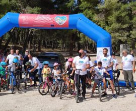 Επιτυχημένη η Ποδηλατάδα του Δήμου Διονύσου στο πλαίσιο της Ευρωπαϊκής Εβδομάδας Κινητικότητας