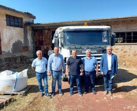Δεκάδες τόνοι ανθρωπιστικής βοήθειας σε πυρόπληκτες περιοχές από τον Δήμο Ιλίου