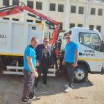 """Νέος εμπλουτισμός για τον """"στόλο"""" των μηχανημάτων του Δήμου Πύργου"""