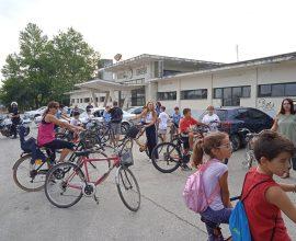 Δήμος Καρδίτσας: Ποδηλατοβόλτα και ενημέρωση για τις μετακινήσεις με το σιδηρόδρομο κυριάρχησαν το Σαββατοκύριακο