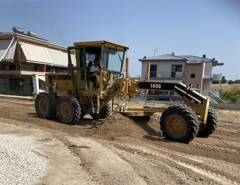 Ο Δήμος Τανάγρας προχωρά στη βελτίωση των δρόμων της κοινότητας Σχηματαρίου  - OTA VOICE