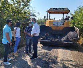 Συνεχίζονται με ακόμη 2.700 μ. ασφαλτοστρώσεων στο Ψαθοτόπι τα έργα οδοποιίας 80 χλμ στον Δήμο Αρτάιων