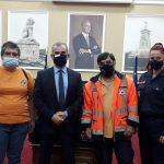 Π.Ε. Σερρών: Παράδοσης των σακιδίων με εξοπλισμό Πολιτικής Προστασίας στις εθελοντικές ομάδες