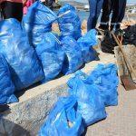Δήμος Ελευσίνας: Συμμετοχή στην δράση καθαρισμού του παραλιακού μετώπου – Συγκεντρώθηκαν 1.350 κιλά απορριμμάτων