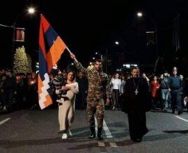 Λαμπαδηδρομία για τους ήρωες του Αρτσάχ, σε Ερεβάν και Στεπανακέρτ