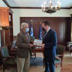 Συνάντηση Δημάρχου Δυτικής Μάνης με τον Υπουργό, Στ. Πέτσα
