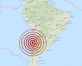 Ισχυρός σεισμός 6 Ρίχτερ στην Χιλή