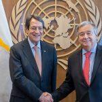 Συνάντηση Αναστασιάδη-Γκουτέρες στις ΗΠΑ για το Κυπριακό