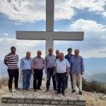 Το ηρωικό χωριό Άνω Λάπι της Δ.Ε. Αετού του Δήμου Τριφυλίας επισκέφθηκε Πέτρος Τατούλης