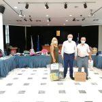 Αμπατζόγλου: «Συγκινητική η συνεισφορά όλου του κόσμου και των εθελοντών»