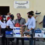Τις αποθήκες της Πολιτικής Προστασίας της Π.Ε. Μεσσηνίας, παρουσίασε ο Π.Νίκας